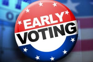 Dates, times set for early voting in county